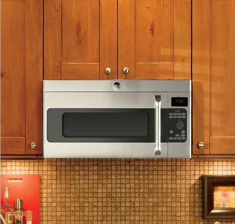 CVM1750SHSS GE Cafe 1.7 Cu. Ft. Over-the-Range Microwave Oven with Sensor Cooking Controls - Stainless Steel