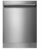 """D5956OUTDOORPH Asko 25"""" Fully Integrated Outdoor Dishwasher with 9 Wash Cycles and 2 Dish Racks - Stainless Steel"""