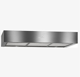 "DA1280 Miele 30"" Built-Under Ventilation Hood with Integrated LED ClearView Lighting and CleanCover - Stainless Steel"