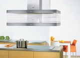 "DA424V6 Miele 48"" Decor Island Hood with 625 CFM Blower - Stainless Steel"