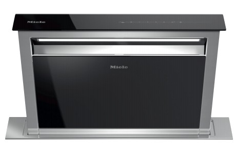 "DA6881+EXTERNAL Miele 30"" 1000 CFM Downdraft Ventilation Hood with LED ClearView Lighting and 4 Fan Speeds - Stainless Steel"