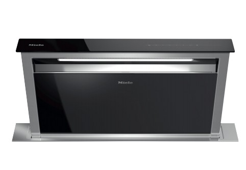 da6891 internal miele 36 500 cfm downdraft ventilation hood with led clearview lighting and 4. Black Bedroom Furniture Sets. Home Design Ideas