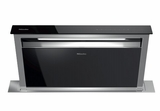 """DA6891+INTERNAL Miele 36"""" 500 CFM Downdraft Ventilation Hood with LED ClearView Lighting and 4 Fan Speeds - Stainless Steel"""