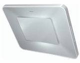 "DA6996WWH Miele 36"" Angled Wall Mounted Hood with 625 CFM and 4 Fan Speeds - Pearl White"