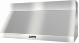 "DAR1250 Miele 48"" Wall Mount Range Hood with Recessed Knob Controls - Stainless Steel"