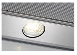 "DA6690WSS 36"" Miele Puristic Wall Hood with LED Clear View Lighting and Maximum CFM Output of 625 - Stainless Steel"