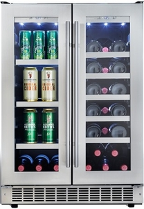 Genial DBC047D1BSSPR Danby Silhouette Professional Lorraine 4.7 Cu. Ft. French  Door Beverage Center   Stainless Steel
