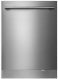 "DBI675THXXLS Asko 24"" 50 Series Built-In Dishwasher with Tubular Handle and 9 Spray Wash System - Stainless Steel"