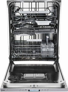 DBI675THXXLS Asko 50 Series Built-In Dishwasher with Tubular Handle and 9 Spray Wash System - Stainless Steel