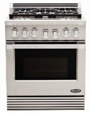 DCS Natural Gas Ranges 30 INCHES WIDE