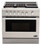 DCS Natural Gas Ranges 36 INCHES WIDE