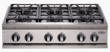 DCS Pro Gas Cooktops NATURAL GAS