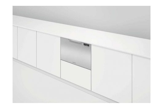 "DD24SAX9N 24"" Fisher & Paykel Full Console Single Drawer Dishwasher with Quick Wash and Cutlery Basket - Stainless Steel"