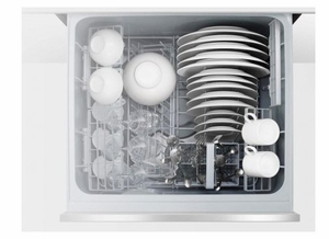 """DD24SAX9N 24"""" Fisher & Paykel Full Console Single Drawer Dishwasher with Quick Wash and Cutlery Basket - Stainless Steel"""