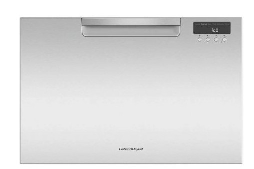 "DD24SAX9 24"" Fisher & Paykel Full Console Single Drawer Dishwasher with Quick Wash and Cutlery Basket - Stainless Steel"