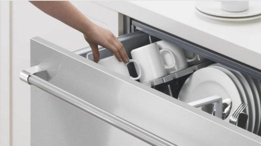 """DD24SV2T7 DCS 24"""" Single Disdhdrawer with SmartDrive Technology - Stainless Steel"""