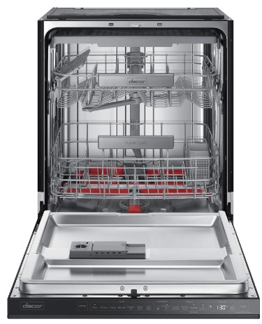"DDW24M999US Dacor 24"" Modernist Collection Semi-Integrated Dishwasher with Smart Control and Zone Booster - Stainless Steel"