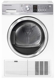 "DE4042P1 Fisher & Paykel 24"" 4.0 cu.ft Electric Condensing Dryer with Drying Rack and Stainless Steel Drum  - White"