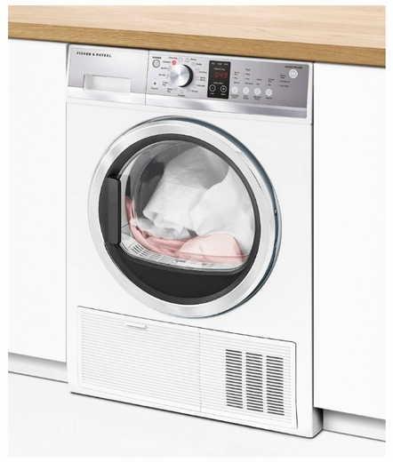 De4042p1 Fisher Paykel 24 4 0 Cu Ft Electric Condensing Dryer With Drying Rack And Stainless