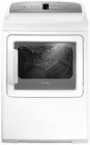 "DE7027G1 Fisher & Paykel 27"" AeroCare Electric Dryer with SmartTouch Controls and Steel Work Surface - White"