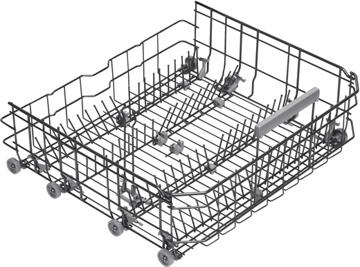 """DFI663 Asko 24"""" 30 Series Built-In Dishwasher with Hidden Controls and 8 Spray Wash System - Custom Panel"""