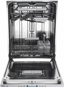 "DFI664 Asko 24"" 40 Series Built-In Dishwasher with Hidden Controls and 9 Spray Wash System - Custom Panel"