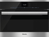 "DG6500 Miele 60 cm (24"") ContourLine Steam Oven with SensorTronic Controls - Stainless Steel"