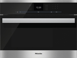 "DG6600 Miele 60 cm (24"") PureLine Steam Oven with SensorTronic Controls - Stainless Steel"