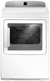 "DG7027G1 Fisher & Paykel 27"" AeroCare Gas Dryer with SmartTouch Controls and Steel Work Surface - White"