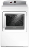"DG7027P2 Fisher & Paykel 27"" AeroCare Gas Dryer with SmartTouch Dial and Steam Cycles - White"