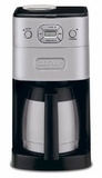 DGB650 Cuisinart Grind-and-Brew Thermal 10-Cup Automatic Coffeemaker, Brushed Metal