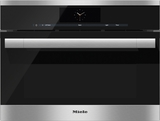 """DGC6700-1SS Miele 60 cm (24"""") ContourLine Combination Steam-Convection Oven with M Touch Controls - Stainless Steel"""