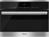 """DGC6705-1XL Miele Combi-Steam Single 24"""" Wide Plumbed Oven with MutliSteam Technology - Stainless Steel"""