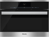 """DGC6805-1XLSS Miele Combi-Steam Single 24"""" Wide Plumbed Oven with MutliSteam Technology - Stainless Steel"""