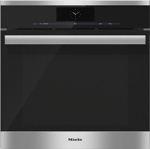 """DGC6865XXLSS Miele 24"""" Steam Combination Oven with Motorized Control Panel and XXL Cavity - Stainless Steel"""