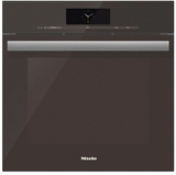 "DGC6865XXLTB Miele 24"" Steam Combination Oven with Motorized Control Panel and XXL Cavity - Truffle Brown"