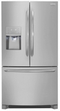 """DGHD2361TF Frigidaire 36"""" Gallery Series Counter-Depth French Door Bottom Mount 21.7 Cu. Ft. Refrigerator with Crisp Seal and PureSource Ultra II Water Filtration - Smudge Proof Stainless Steel"""