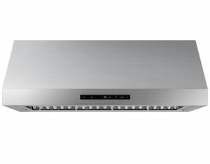 """DHD30M967WS Dacor 30"""" Contemporary Wall Mount Hood With Heat Sensor and 4 Speed Fan - Stainless Steel"""
