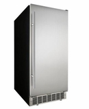 "DIM32D1BSSPR Danby Silhouette Professional Mosel 15"" Built-In Ice Maker with 3 Sizes of Cube Settings - Stainless Steel"