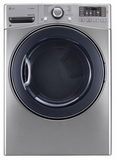 DLGX3571V LG 7.4 cu. ft. Gas Steam Dryer - Graphite Steel