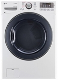 DLGX3571W LG 7.4 cu. ft. Gas Steam Dryer - White