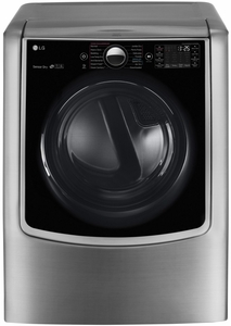 """DLGX9001V LG 29"""" 9.0 cu. ft. Gas Dryer with 14 Dry Cycles with 5 Temperature Selections - Graphite Steel"""