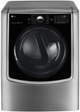 "DLGX9001V LG 29"" 9.0 cu. ft. Gas Dryer with 14 Dry Cycles with 5 Temperature Selections - Graphite Steel"