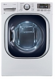 DLHX4072W LG 7.3 Cu. Ft. Electric Dryer with EcoHybrid Technology - White