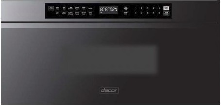 "DMR30M977WM Dacor 30"" Microwave-In-A-Drawer with Automatic Drawer and Multiple Sequence Cooking Programs - Graphite Stainless Steel"