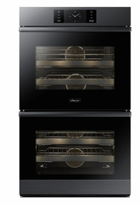 """DOB30M977DM Dacor 30"""" Contemporary Electric Double Wall Oven with BrightVue Lights - Graphite Stainless Steel"""