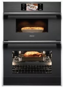 "DOC30M977DM Dacor 30"" Modernist Collection Electric Speed Combination Wall Oven with Microwave Convection - Graphite Stainless Steel"