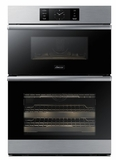 "DOC30M977DS Dacor 30"" Modernist Collection Electric Speed Combination Wall Oven with Microwave Convection - Silver Stainless Steel"
