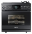 "DOP36M94DPM Dacor 36"" Modernist Collection Pro Liquid Propane Dual-Fuel Steam Range with Griddle - Graphite Stainless Steel"