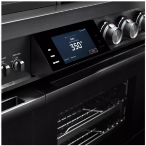 "DOP48M96DPM Dacor 48"" Contemporary Freestanding Dual Fuel Range with Illumina Knobs and Wi-Fi Connection - Liquid Propane - Graphite Stainless Steel"